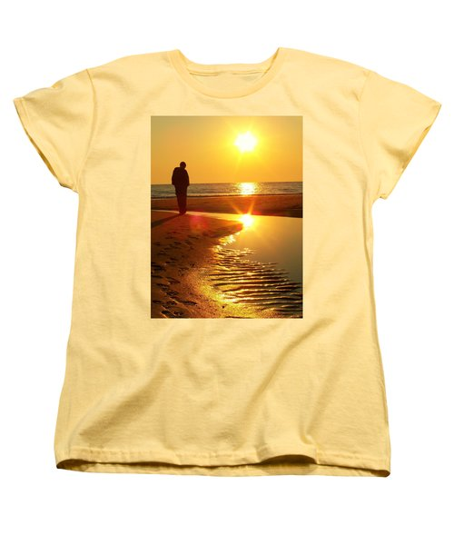 Serenity Women's T-Shirt (Standard Cut) by Trish Tritz