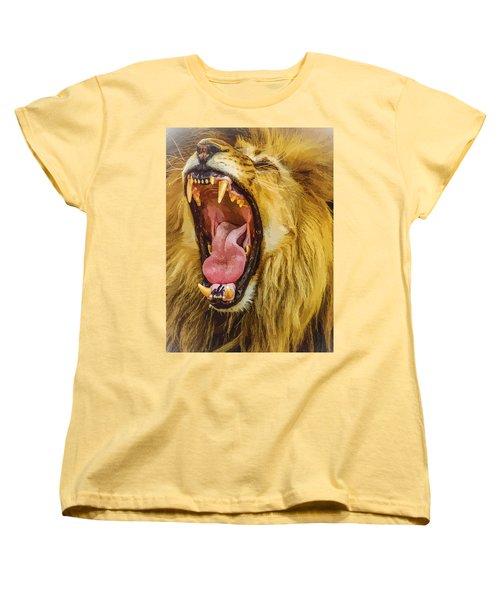 Stay Away From My Teeth Women's T-Shirt (Standard Cut) by Moustafa Al Hatter