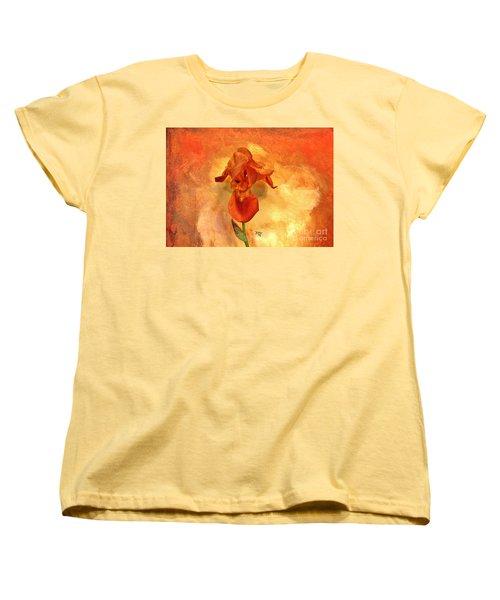 Shy Iris Women's T-Shirt (Standard Cut)