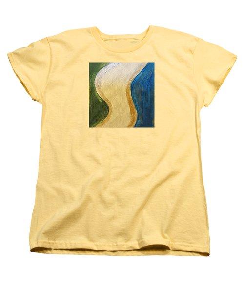 Sierra Leone Coastline - Freetown - Sierra Leone  Women's T-Shirt (Standard Cut) by Mudiama Kammoh