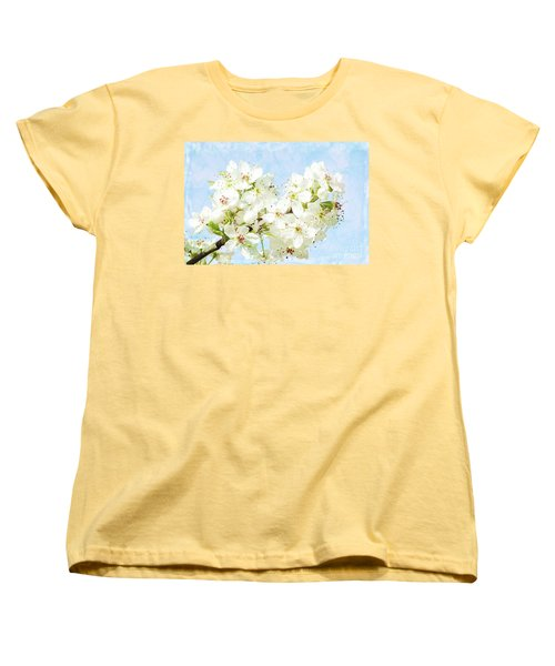 Signs Of Spring Women's T-Shirt (Standard Cut) by Inspirational Photo Creations Audrey Woods
