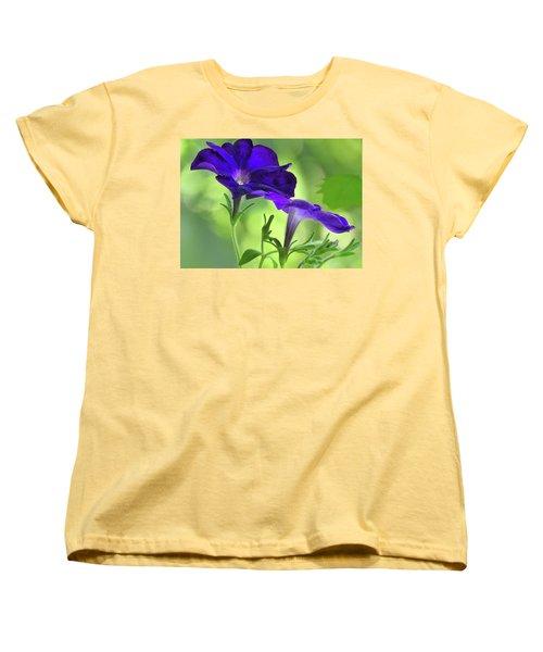 Simple And Undemanding Women's T-Shirt (Standard Cut) by Laura Ragland
