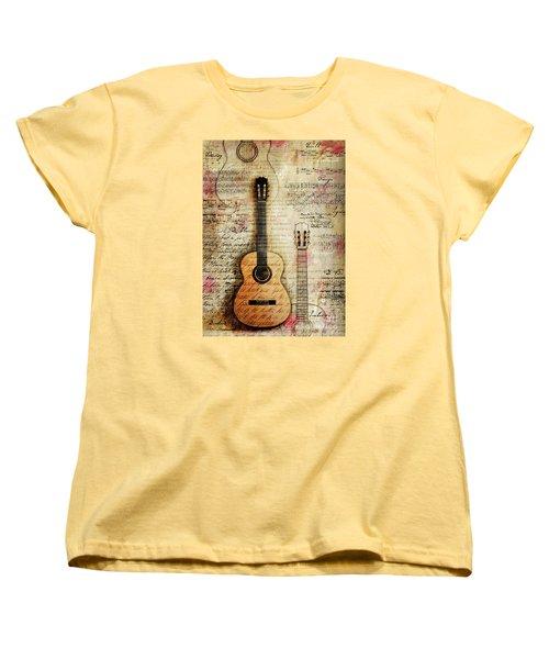 Six String Sages Women's T-Shirt (Standard Cut)
