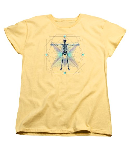 Skeletal System Women's T-Shirt (Standard Cut) by Iowan Stone-Flowers
