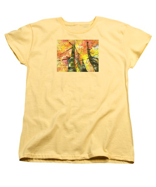 Sky View Women's T-Shirt (Standard Cut) by Yolanda Koh