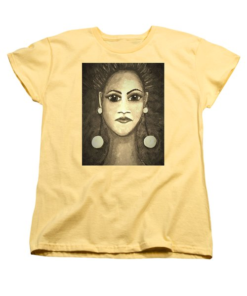Smoking Woman 1 Women's T-Shirt (Standard Fit)