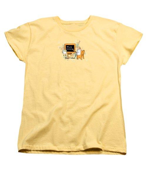 Smore School Illustrated Women's T-Shirt (Standard Cut) by Heather Applegate