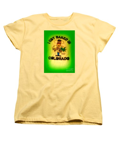 So High Too Women's T-Shirt (Standard Cut) by Kelly Awad