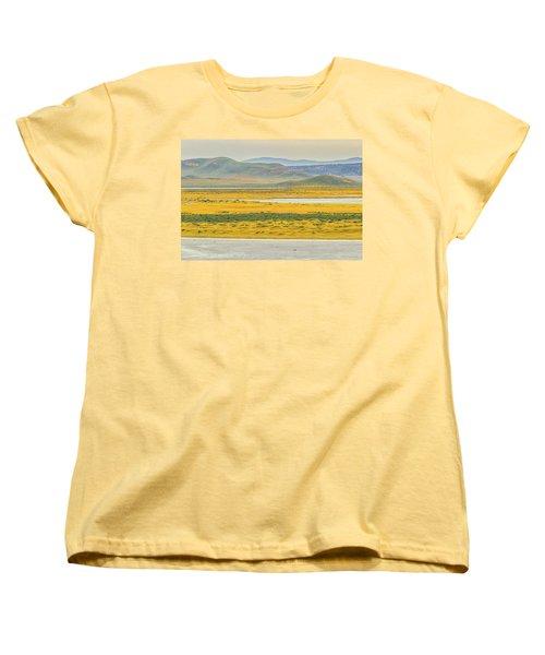 Soda Lake To Caliente Range Women's T-Shirt (Standard Cut) by Marc Crumpler