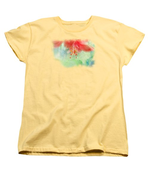 Softly Colored 1 Women's T-Shirt (Standard Cut) by Judy Hall-Folde