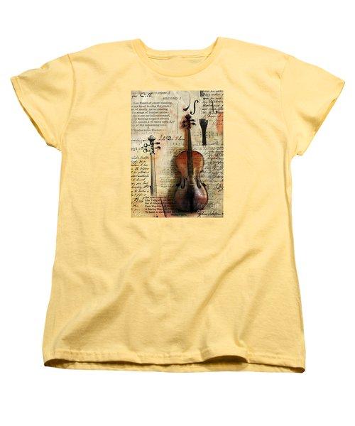 Soli Deo Gloria Women's T-Shirt (Standard Cut)
