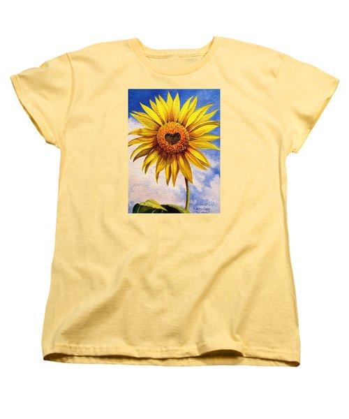Son Kissed Women's T-Shirt (Standard Cut) by Nancy Cupp