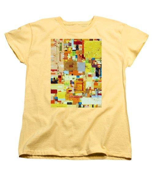 Song Of Solar Fusion Women's T-Shirt (Standard Cut) by Regina Valluzzi