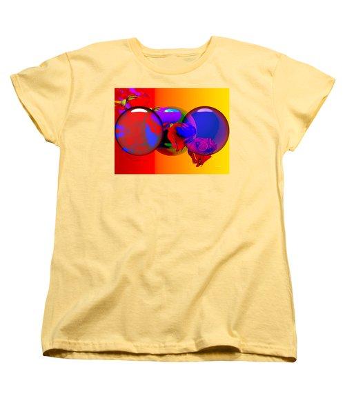 Women's T-Shirt (Standard Cut) featuring the digital art Sophistacated Lady by Robert Orinski