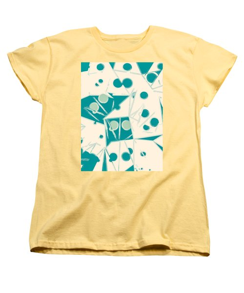 Space-time Women's T-Shirt (Standard Cut) by Moustafa Al Hatter