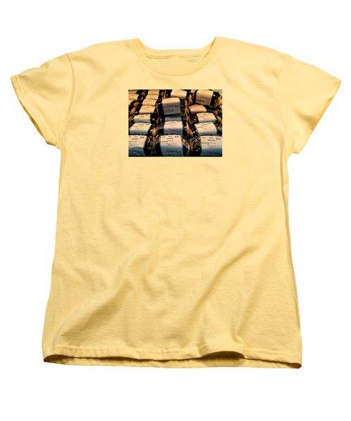Spam, Spam, Spam, Spam Women's T-Shirt (Standard Cut) by Brenda Pressnall