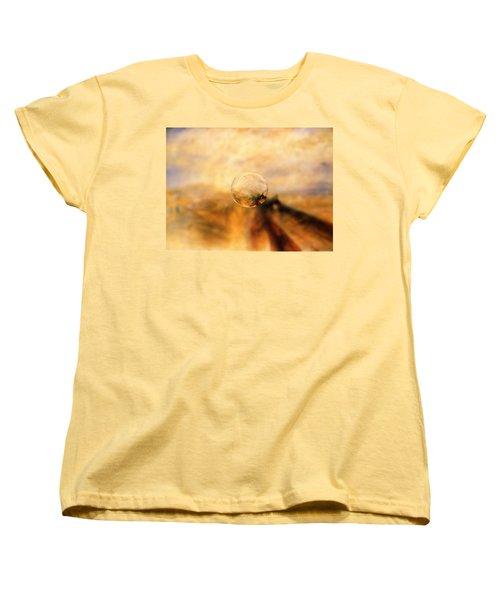 Sphere 8 Turner Women's T-Shirt (Standard Cut) by David Bridburg