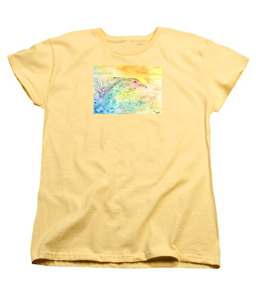 Splash Women's T-Shirt (Standard Cut) by Denise Tomasura