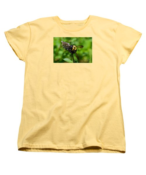 Spot, My Bumblebee Women's T-Shirt (Standard Cut) by Lew Davis