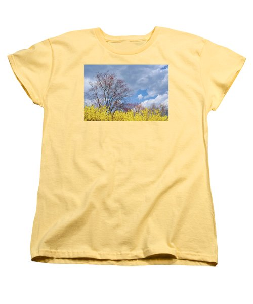 Women's T-Shirt (Standard Cut) featuring the photograph Spring 2017 by Bill Wakeley