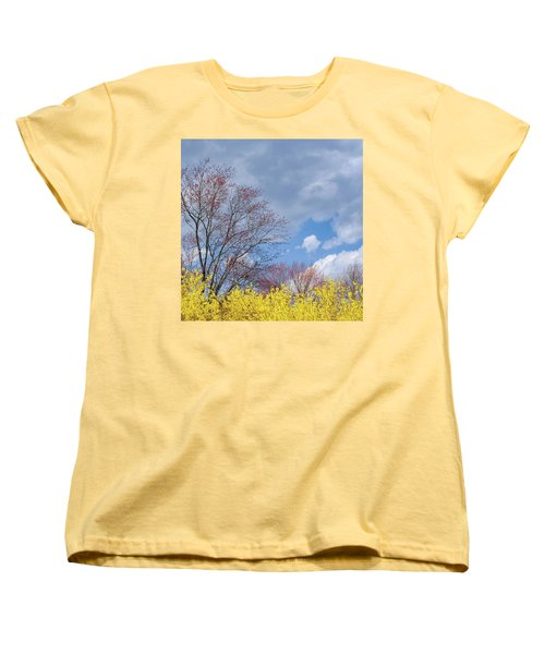Women's T-Shirt (Standard Cut) featuring the photograph Spring 2017 Square by Bill Wakeley