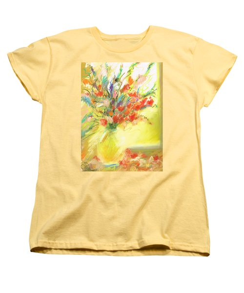 Spring Bouquet Women's T-Shirt (Standard Cut) by Frances Marino