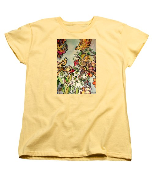Spring Day Women's T-Shirt (Standard Cut) by Claudia Cole Meek