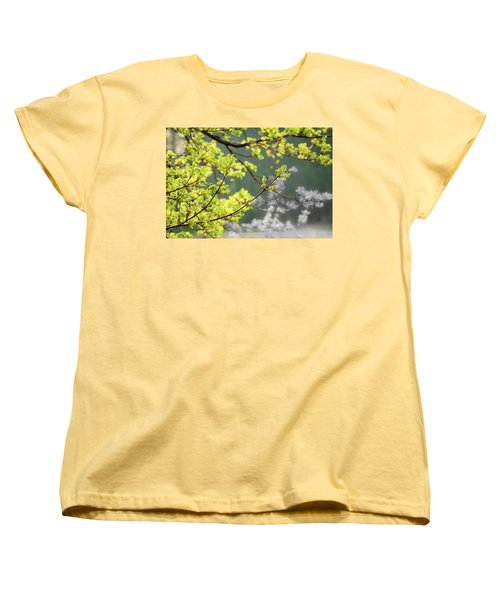 Spring In The Arboretum Women's T-Shirt (Standard Cut) by Joni Eskridge