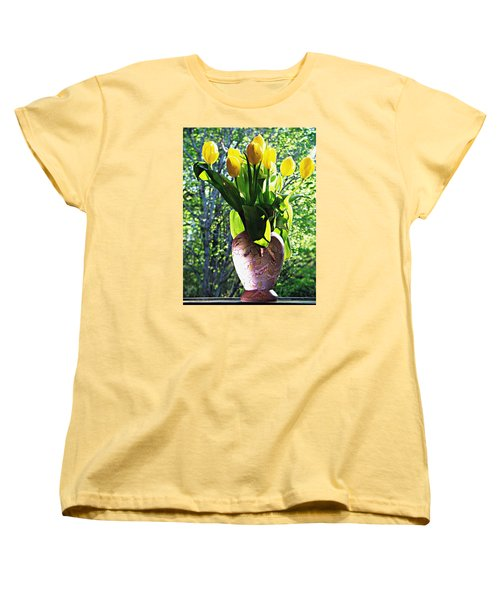 Spring Women's T-Shirt (Standard Cut) by Joy Nichols