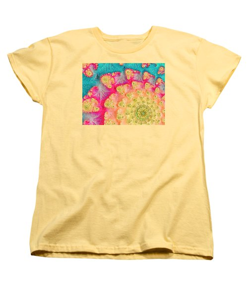 Women's T-Shirt (Standard Cut) featuring the digital art Spring On Parade by Bonnie Bruno