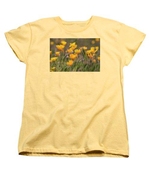 Women's T-Shirt (Standard Cut) featuring the photograph Spring Softly Calling  by Saija Lehtonen