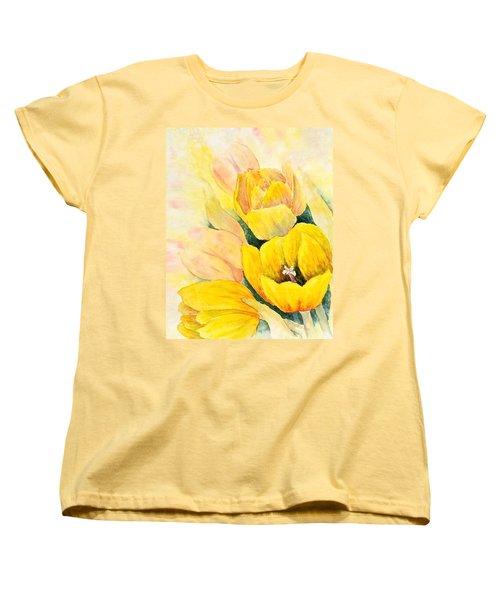 Spring Tulips Women's T-Shirt (Standard Cut)