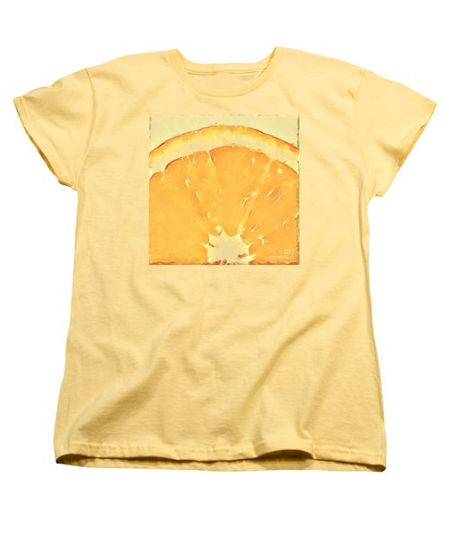 Women's T-Shirt (Standard Cut) featuring the mixed media Squeeze Me 2 by Anthony Fishburne