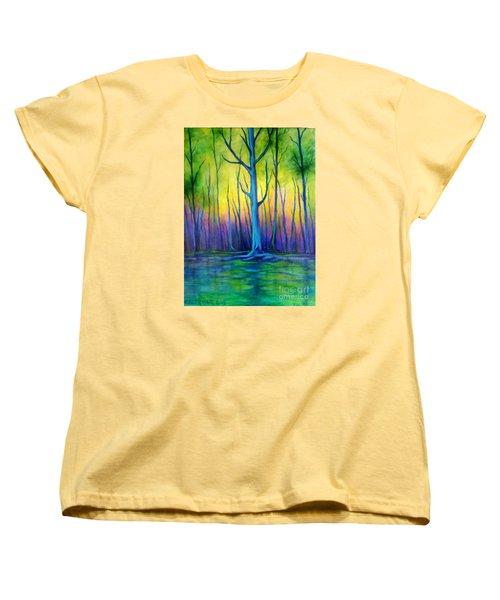 Standing Tall  Women's T-Shirt (Standard Cut) by Alison Caltrider