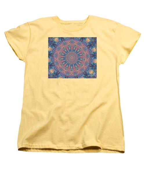 Star Constellations Women's T-Shirt (Standard Cut) by Shirley Moravec