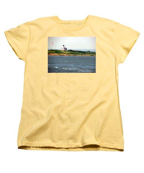 Staten Island Women's T-Shirt (Standard Cut) by Judi Saunders