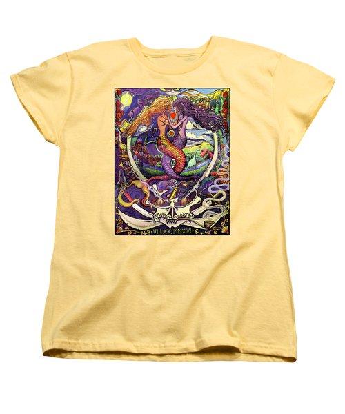 Steal Your Mermaids Women's T-Shirt (Standard Cut) by David Sockrider
