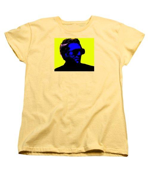 Steve Mcqueen Women's T-Shirt (Standard Cut) by Emme Pons