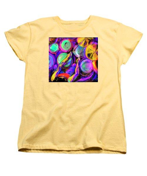 Sticks And Skins Women's T-Shirt (Standard Cut) by DC Langer