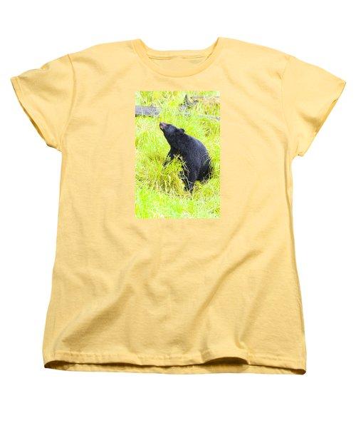 Stretch Women's T-Shirt (Standard Cut) by Harold Piskiel