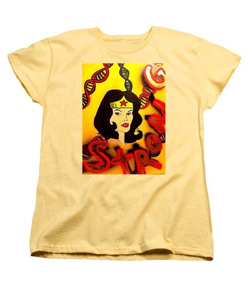 Strong Veins  Women's T-Shirt (Standard Cut) by Miriam Moran