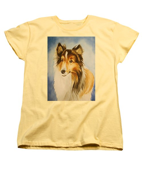 Women's T-Shirt (Standard Cut) featuring the painting Sugar by Marilyn Jacobson