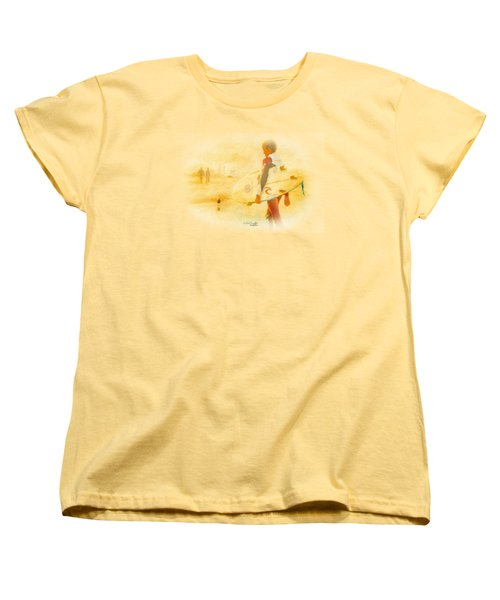 Women's T-Shirt (Standard Cut) featuring the painting Summer II by Chris Armytage