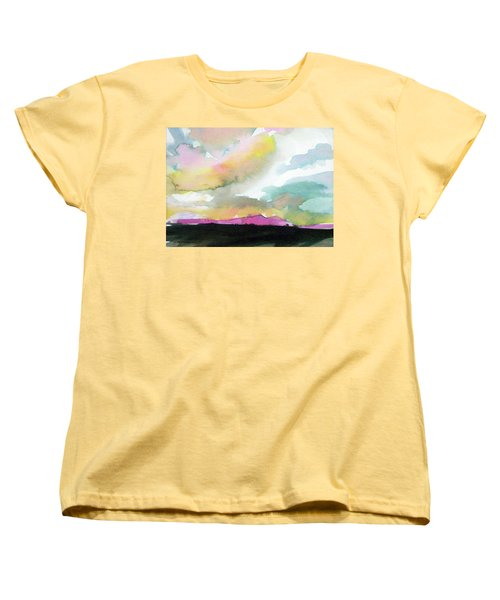 Summer Monsoon Women's T-Shirt (Standard Cut) by Ed Heaton