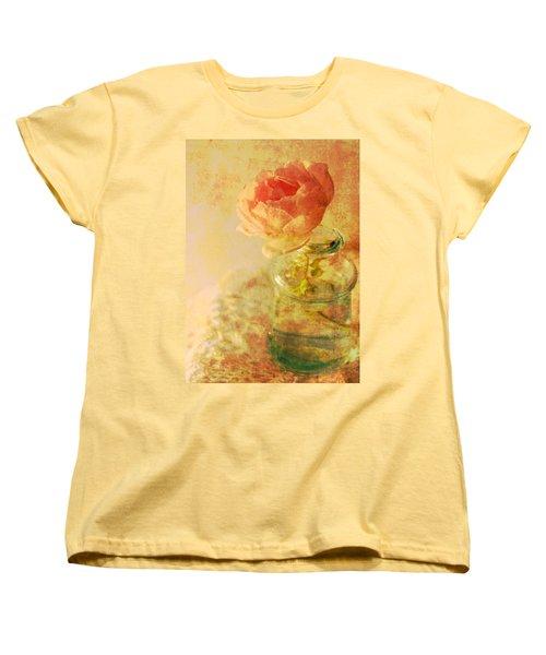 Summer Rose Women's T-Shirt (Standard Cut) by Catherine Alfidi