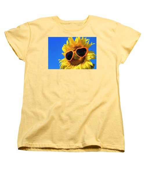 Summertime Women's T-Shirt (Standard Cut) by Teri Virbickis