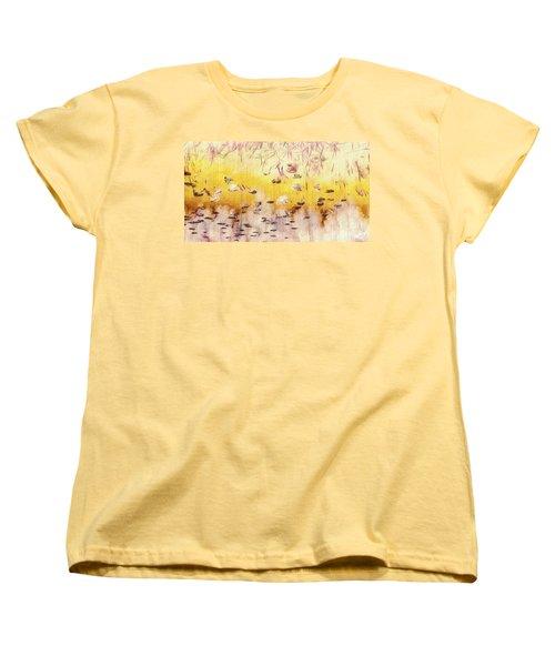 Women's T-Shirt (Standard Cut) featuring the photograph Sun Shower by William Wyckoff