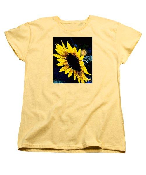Sunflower Art  Women's T-Shirt (Standard Cut)