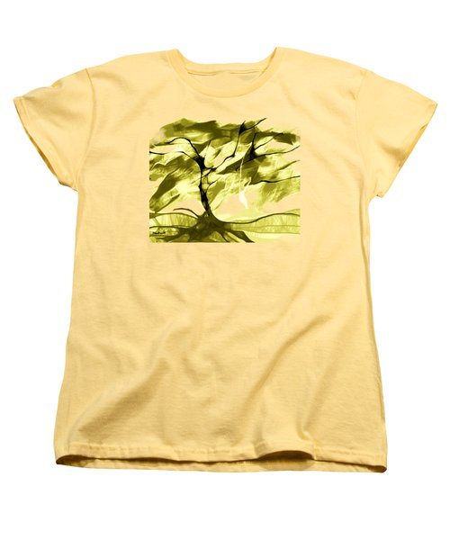Women's T-Shirt (Standard Cut) featuring the digital art Sunny Day by Asok Mukhopadhyay