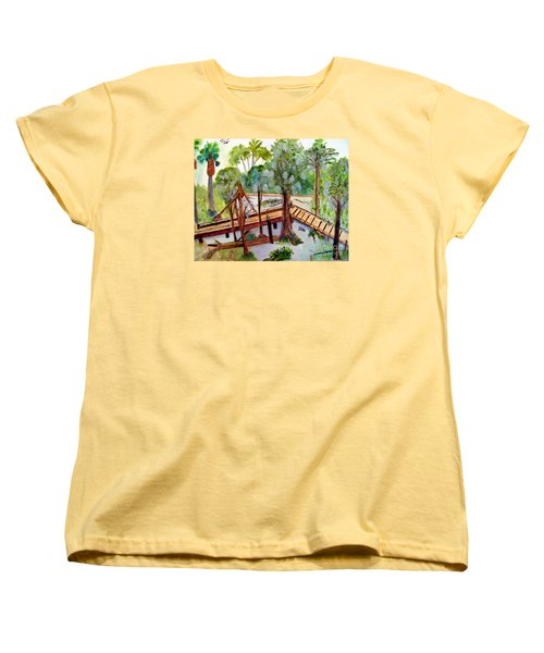 Sunny Day In Central Florida Women's T-Shirt (Standard Cut) by Sandy McIntire